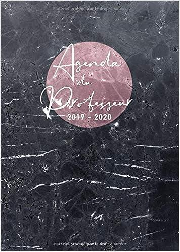Amazon.com: Agenda du Professeur 2019 2020: Agenda de Bord ...
