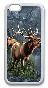 Elk Protector TPU Case Cover for iphone 6 plus 5.5 inch White