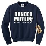 NuffSaid Dunder Mifflin Crewneck Sweatshirt – Sweater – Premium Quality TV Shirt Sweatshirt