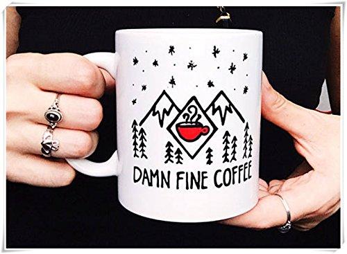 - Hand Painted Coffee Mugs, Twin Peaks mug, Damn Fine Coffee mug, Twin Peaks Agent Cooper Mug, Twin Peaks Black Lodge Mug, Coffee Cup, Ceramic Coffee Mug 11oz