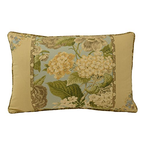 WAVERLY Garden Glory Decorative Pillow, 14 x 20 , Mist