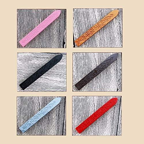 Furobayuusaku Cire /à cacheter ancienne vintage motif fl/èches multicolores cire sp/éciale cire scell/ée rouge M