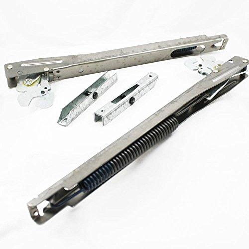Kenmore 5304445529 Range Oven Door Hinge Kit Genuine Original Equipment Manufacturer (OEM) - Hinge Door Range