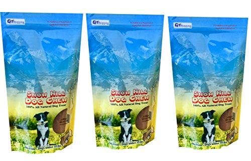 Snow Hill Himalayan Yak Milk Dog Chews Size Medium 3 Bulk Pa