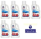 Natural Chemistry 03122-06 Pool First Aid Clears Cloudy Swimming Pool Water, 2-Liters, 6-Pack