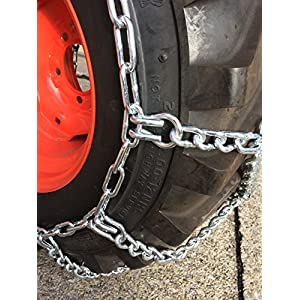TireChain.com ATV UTV European Style Diamond Net Tire Chains XATV04 priced per pair
