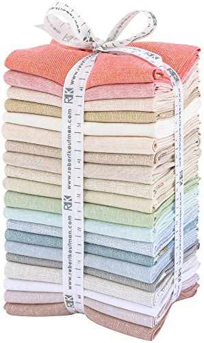 (Robert Kaufman Essex Yarn Dyed Light 20 Fat Quarters)