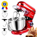 Hornbill Tilt-head Stand Mixer 600W 6-Speed 5-Quart Stainless Steel Bowl Kitchen Electric Mixer With Dough Hook, Whisk, Beater Review