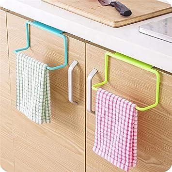 Tyro - Toallero de plástico para Colgar en el Armario de la Cocina, Organizador de Toallas, Soporte de Esponja, Armario de Almacenamiento, estantes de baño: ...