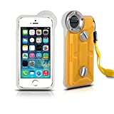 Underwater Housing for iPhone 6/6s Plus iPhone7 Plus, Grade IP68 Professional [100m/328ft] Dive Swimming Underwater Photo Video Camera Waterproof Case Cover for iPhone 6/6S/7 Plus 5.5 inch (Yellow)