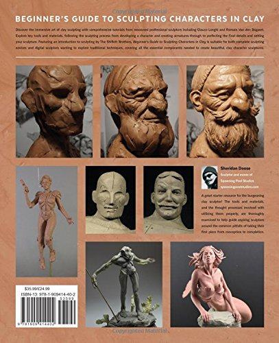 Beginner's Guide to Sculpting Characters in Clay: 3dtotal ...