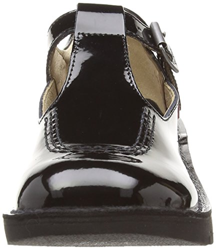 38 EU Patent Kick Leather Patent Kickers Black SD Youths Shoes q8F8zBxH
