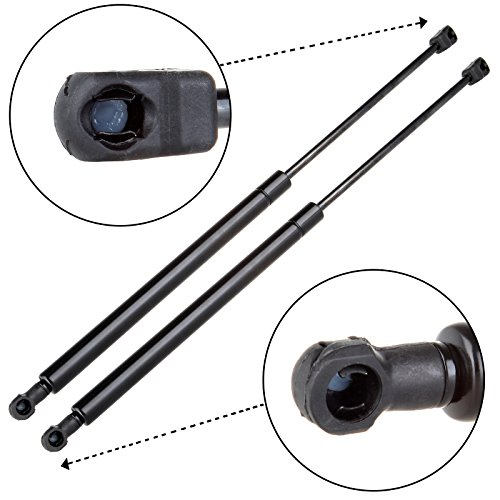 ECCPP Front Hood Lift Supports for 2008 2009 Saturn Aura,2008-2012 Chevrolet Malibu Compatible with SG330094 6166 Strut Set of 2