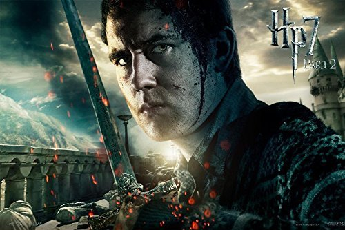 Harry Potter And The Deathly Hallows Neville Longbottom David Lewis Tv Movie Film Poster Fabric Silk Print