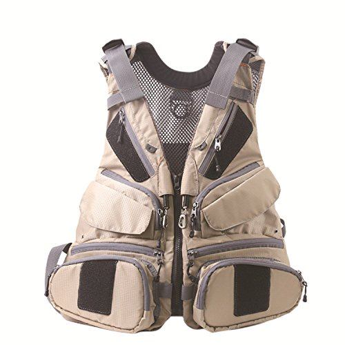 Maxcatch Fly Fishing Vest Pack (Fishing Vest/Fishing Sling Pack/Fishing Backpack) (Fly Vest Summit New-Tech) For Sale