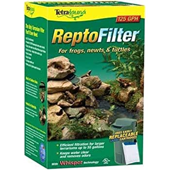 Tetra ReptoFilter for Terrariums, For Frogs/Newts/Turtles, 125 GPH