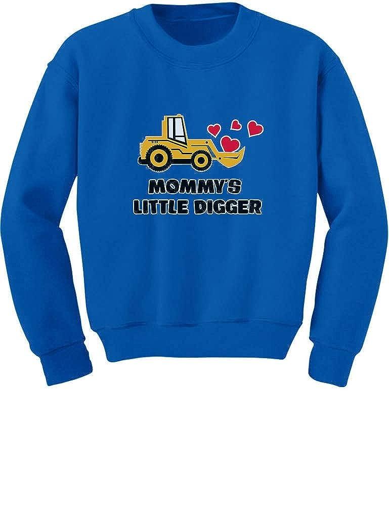 Mommys Little Digger Valentines Day Toddler//Kids Sweatshirt Tstars