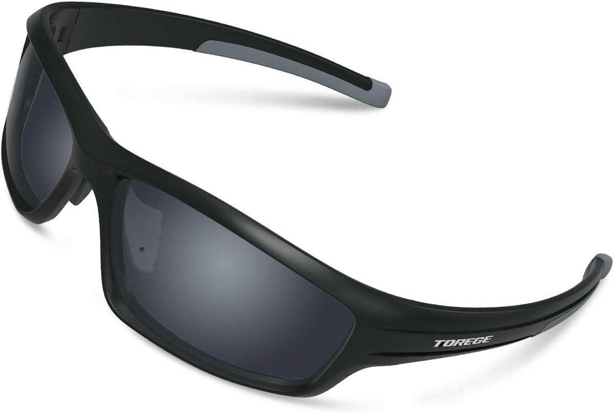 Gafas de sol deportivas Torege TR90 polarizadas para hombres y ...