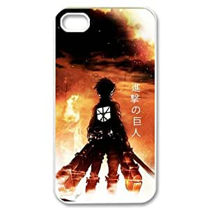 Attack On Titan Snap On Cover Protector For iphone 4s, Silicone iphone 4 Case, Iphone Accessories