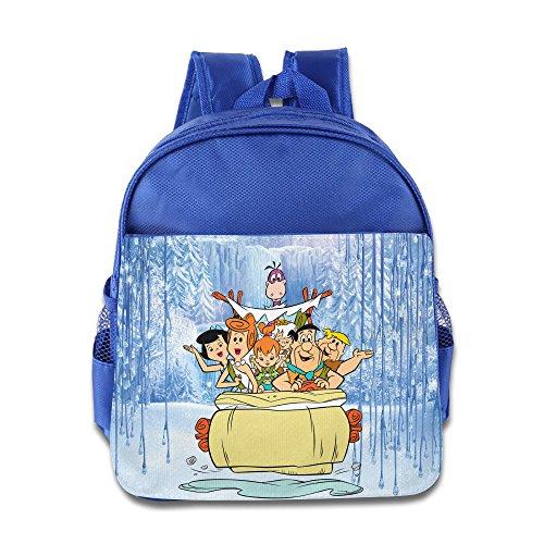 [MEGGE The Flintstones Beautiful Children's Bags RoyalBlue] (Wall E Costume Disney)