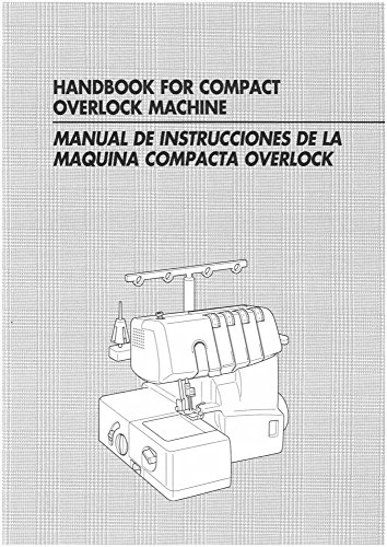 - Brother 1034D Overlock Serger Owners Instruction Manual