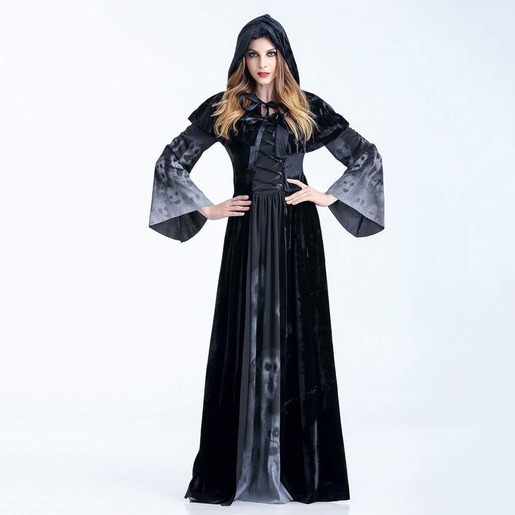 LGP Vestido de la Muerte de Las Mujeres Adultas de Halloween ...
