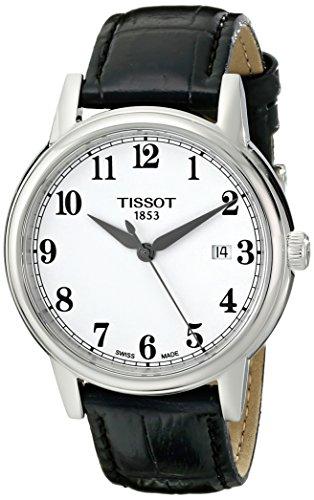 (Tissot Men's T0854101601200 Carson Analog Display Swiss Quartz Black Watch)