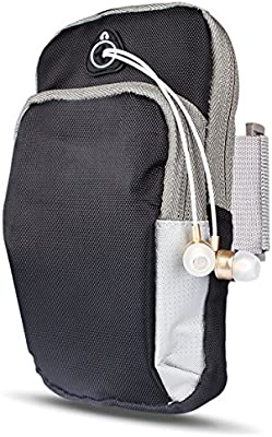 SUNDATOM Armband Sports Running Bag,Universal Smartphone Band Case for iPhone 8 Plus X Samsung S8 S9 Mobile Phone Earphone Keys Arm Bags Pouch: Amazon.es: Electrónica