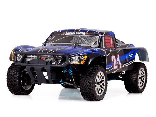 Redcat Racing Vortex SS Desert Nitro Truck, Black/Blue, 1/10 Scale (Nitro Cars And Trucks compare prices)