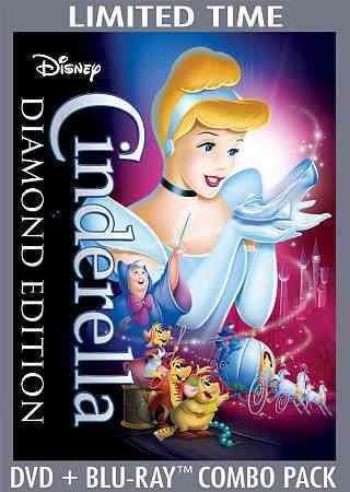Cinderella Movie List (Cinderella (Two-Disc Diamond Edition Blu-ray DVD Combo in DVD)