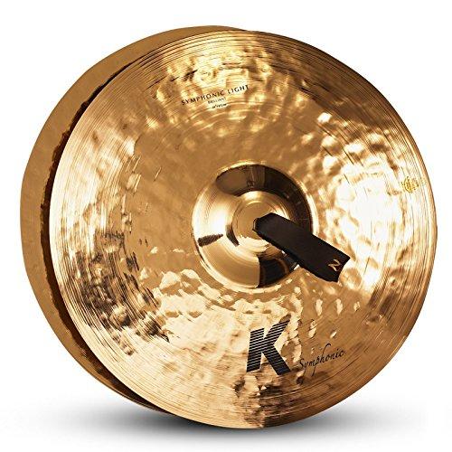 - Zildjian K Symphonic Orchestral Light Brilliant Crash Cymbal Pair 18 in. Brilliant