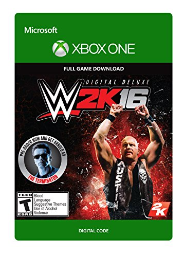 WWE 2K16 Deluxe Edition - Xbox One Digital Code by 2K Games