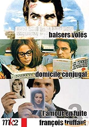 FRANCOIS TRUFFAUT - Coffret 3 DVDs: Baisers Voles / Domicile ...