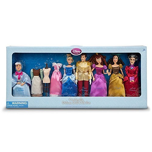 Disney Princess Exclusive Deluxe Cinderella Doll Gift Set by Disney
