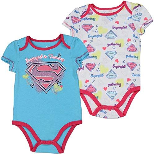 Supergirl Infant Baby Girls