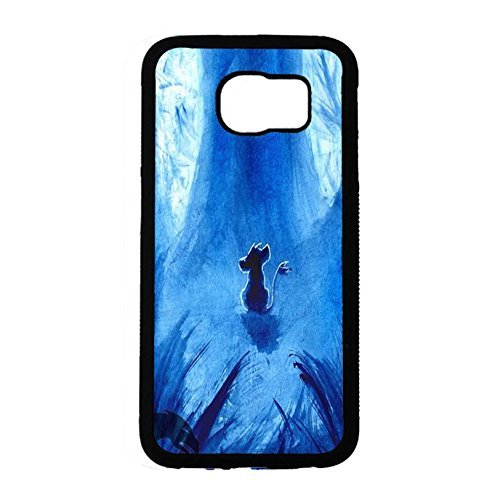 Case Shell Fantastic Blue Pattern Disney Cartoon The Lion King Phone Case Cover for Coque Samsung Galaxy S6 Anime Popular,Cas De Téléphone