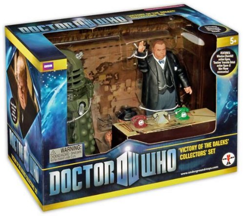 Doctor Who Victory of the Daleks Collectors' Set