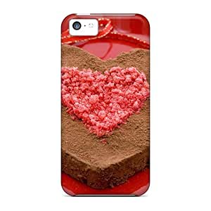 meilz aiaiCaroleSignorile Perfect Cases For ipod touch 5/ Anti-scratch Protector Cases (chocolate Heart Cake)meilz aiai