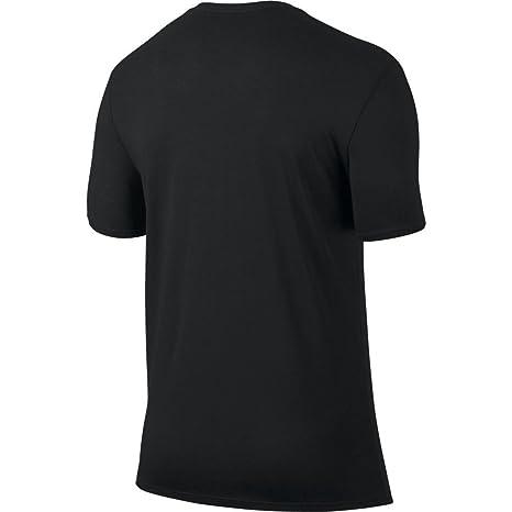 69b22ae74db868 Amazon.com  Jordan Iconic Jumpman Logo Graphic Men s Fashion Casual T-Shirt  Black 834473-010  Clothing