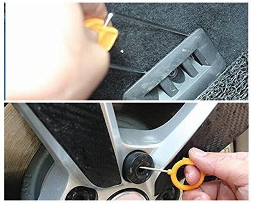 Super PDR 12Pcs Auto Door Clip Panel Trim Removal Tool Kits for Car Dash Radio Audio Installer Pry Tool by Super PDR (Image #3)