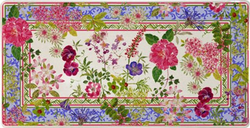 Glen MILLE Fleurs placa rectangular/bombones placa/Soporte joyas ...
