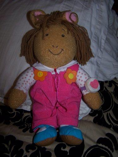 Arthur Dress Me D.W. Doll
