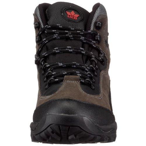 De Schwarz rot grau Chaussures Milan schwarz Hautes Noir Homme rot Lico Randonnée grau qZEv7fB