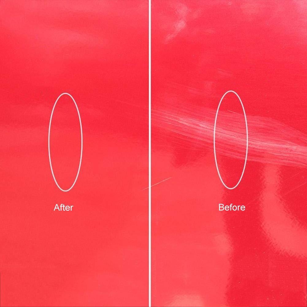 forbidvt Nano-Meter Scratch rimozione Panno,Auto Vernice Graffi Riparazione rimuovi Graffi,Riparazione Graffi e Strong Decontamin,Resistente all Acqua Professionale Riparazioni Graffi