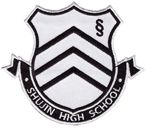 Hook Persona Shujin High School Uniform Badge Cosplay Hallow