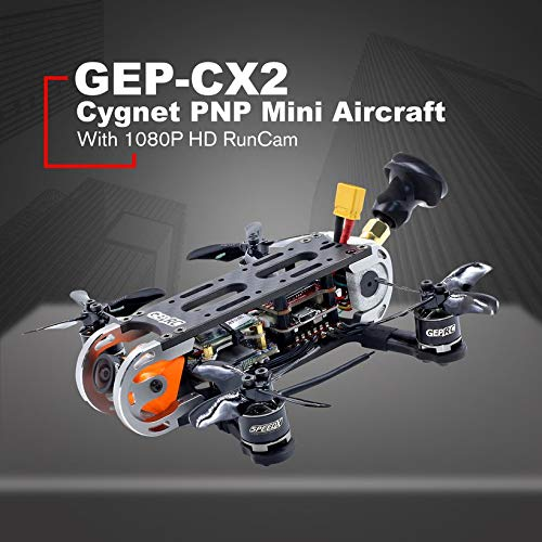Wikiwand Geprc GEP-CX2 Cygnet 2 Inch RunCam 1080P HD 6000kv Motor RC Mini Aircraft PNP by Wikiwand (Image #3)