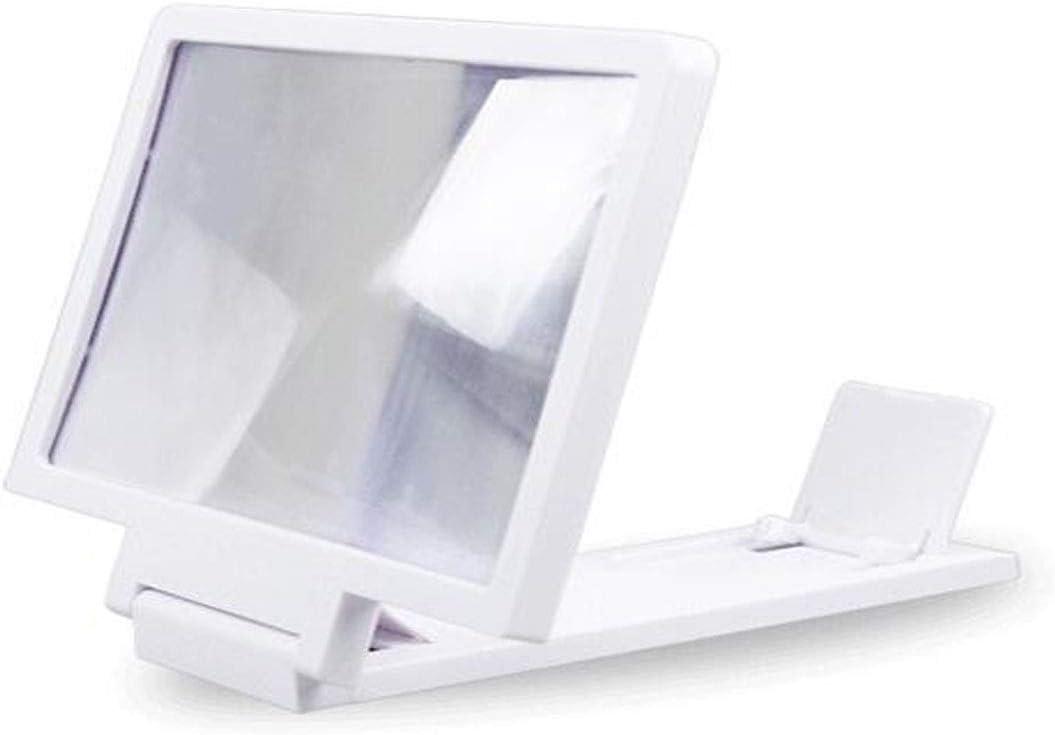 Qiyuezhuangshi Mobile Phone Screen Amplifier Smart Phone Universal HD Screen Amplifier Folding Stand 3D Chase Drama Watching Artifact Anti-Fatigue Black 16.710.7cm,Beautiful