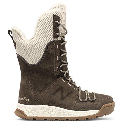 真空規範チラチラする(ニューバランス) New Balance 靴?シューズ レディースウォーキング Fresh Foam 1100 Boot Brown with White ブラウン ホワイト US 10.5 (27.5cm)