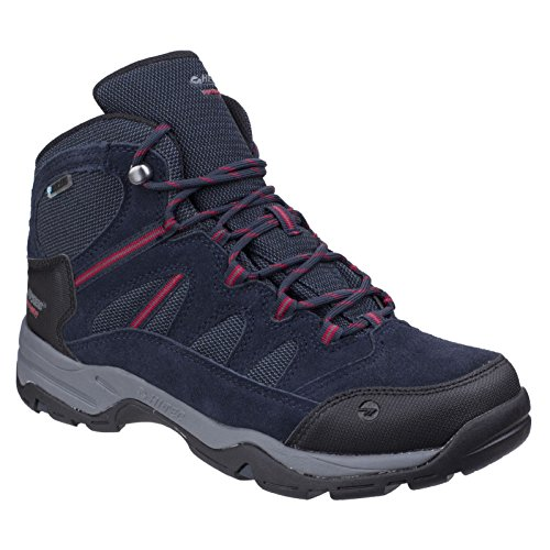 Hi-Tec Bandera II Mid WP Walking Shoes - AW17 Navy Blue iZFnMt