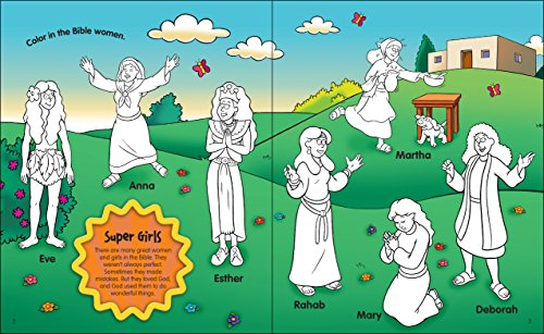 The Beginners Bible Super Girls Of The Bible Sticker And